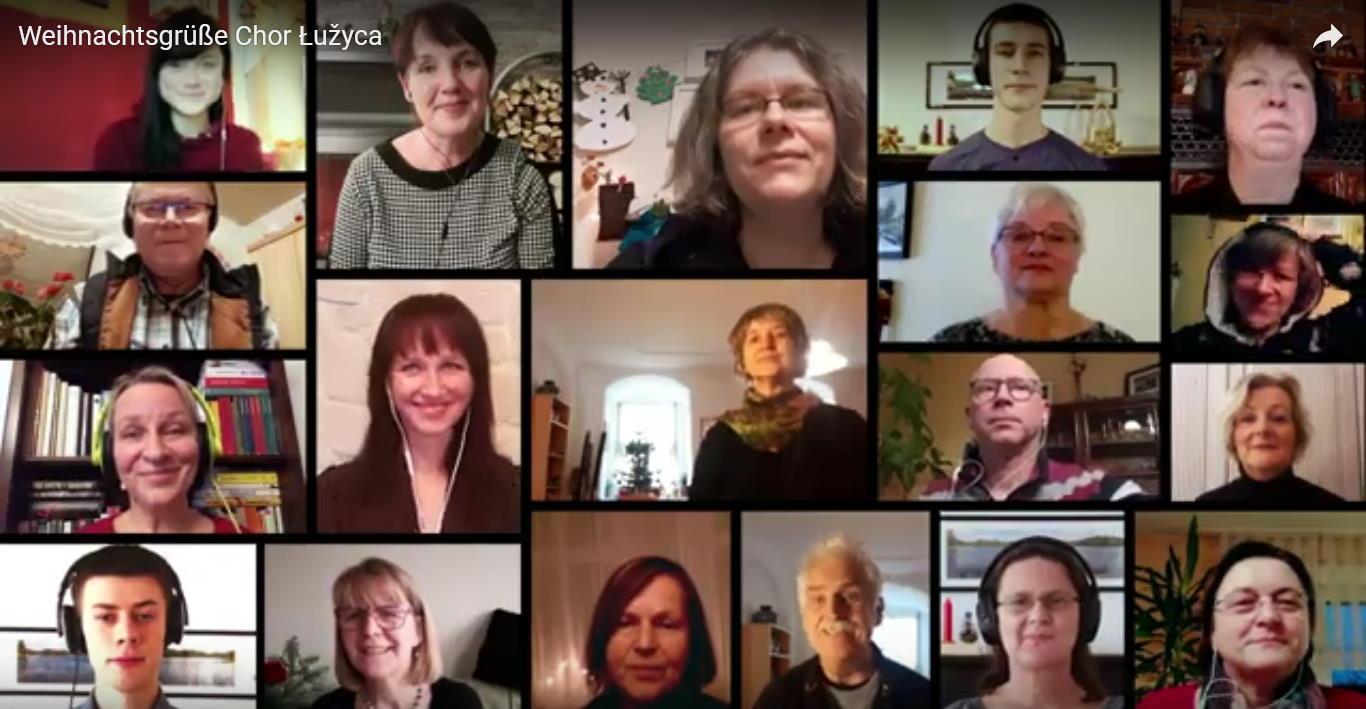 201220 weihnachtsgruß chor Luzyca